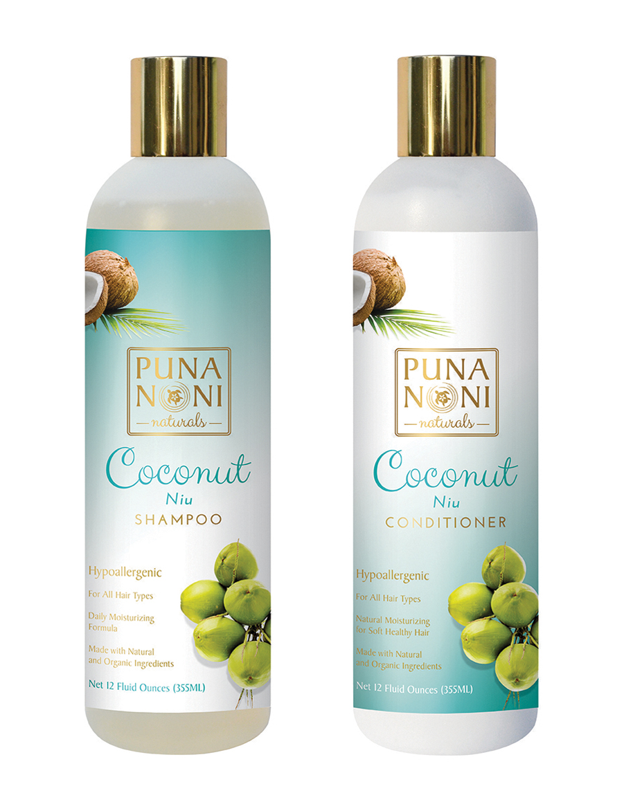 Coconut Hair Care Package Puna Noni